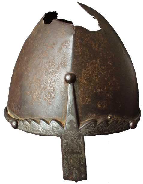Prague Castle Conical Nasal Helmet - 10th Century