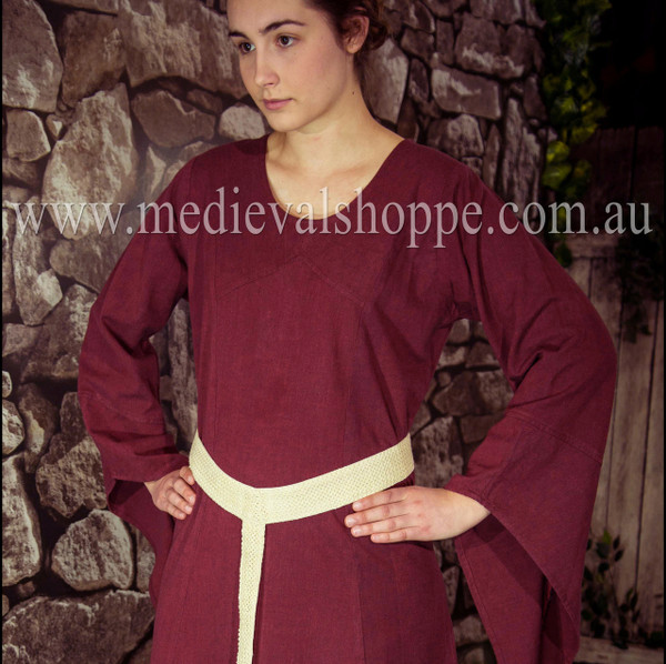 Red Medieval Dress