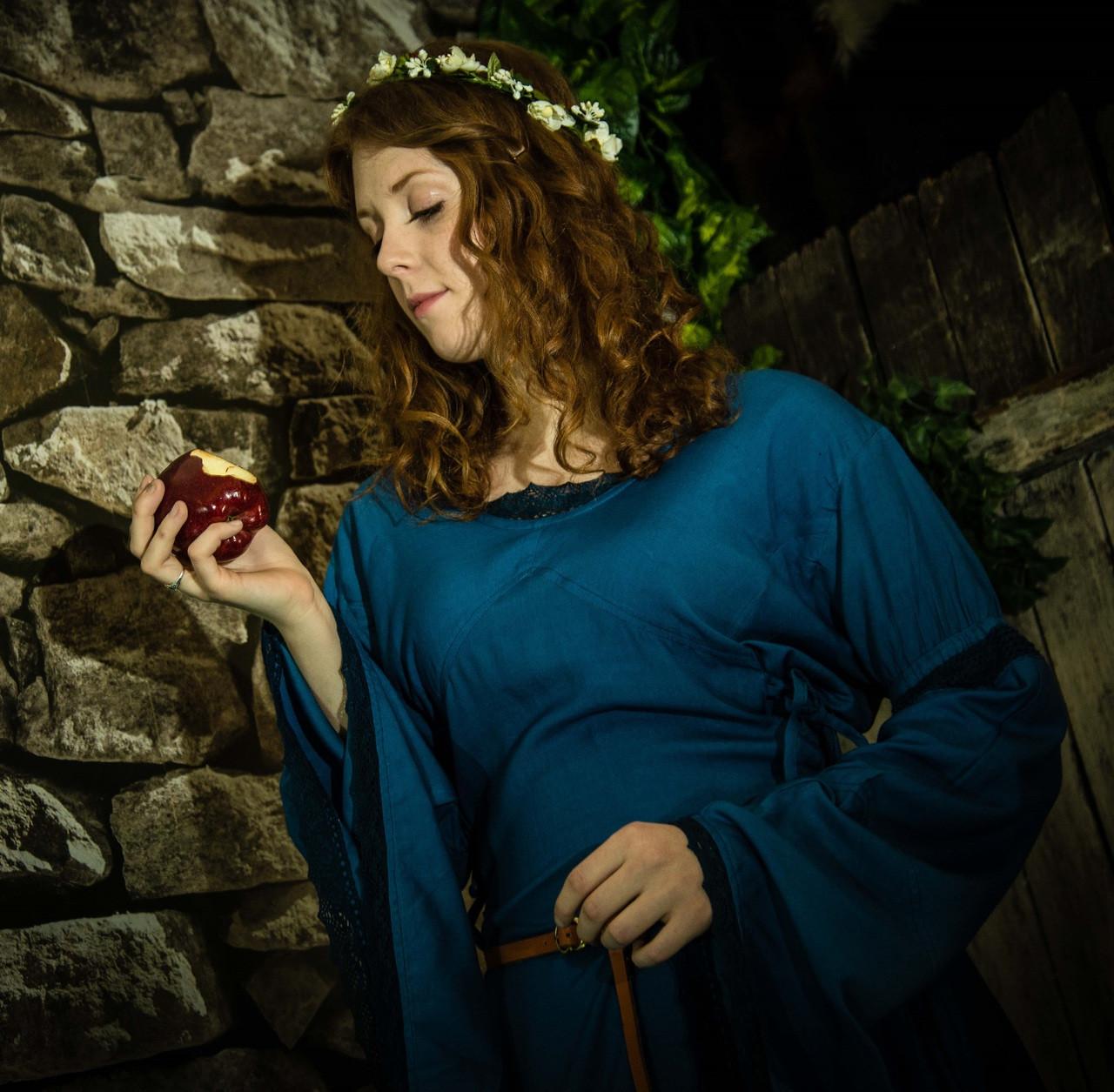 Blue Medieval Dress