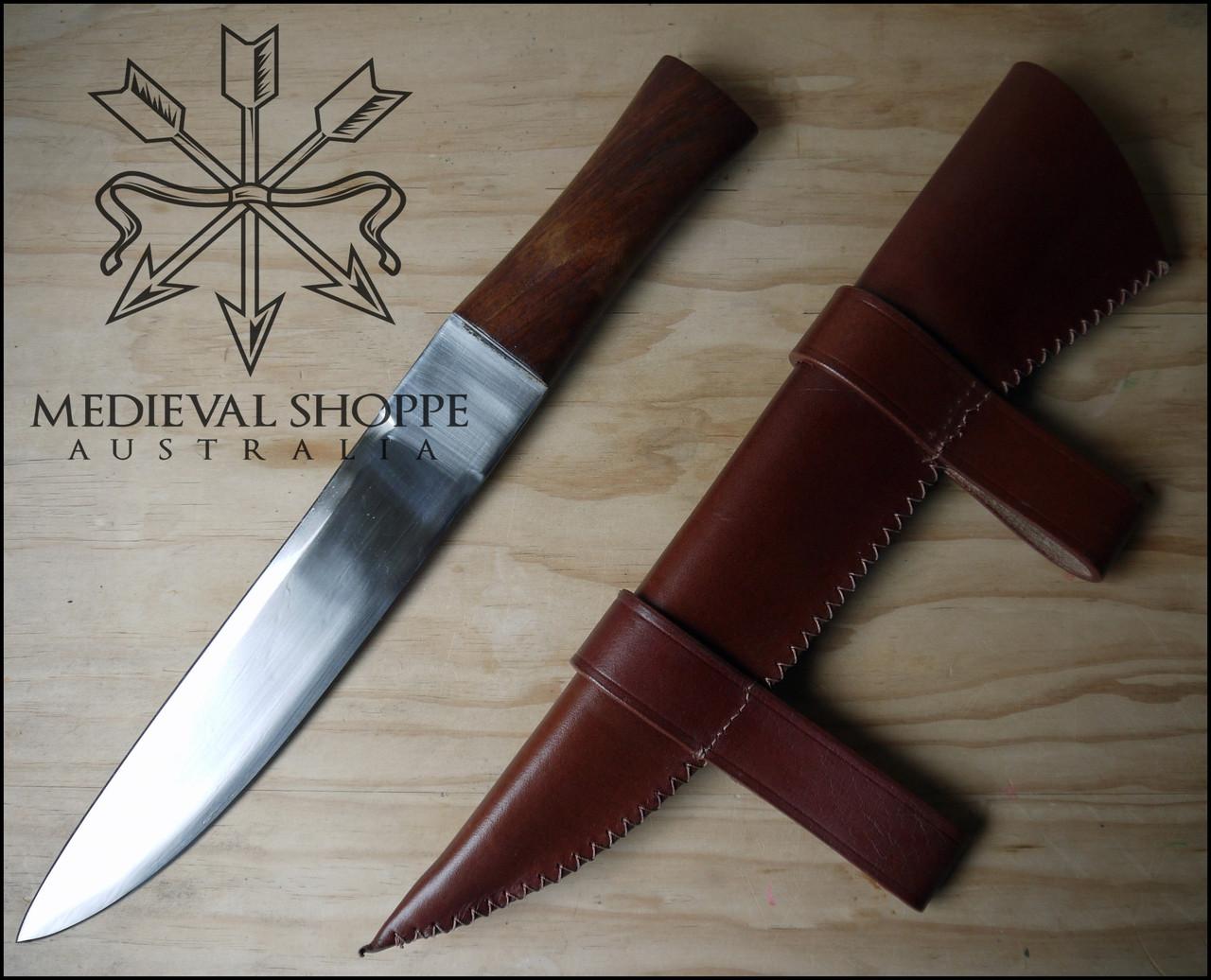 Germanic Saxmesser with Cherrywood Handle