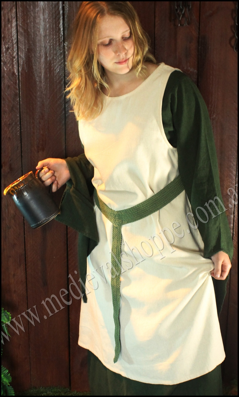 Lady's Green Medieval Belt