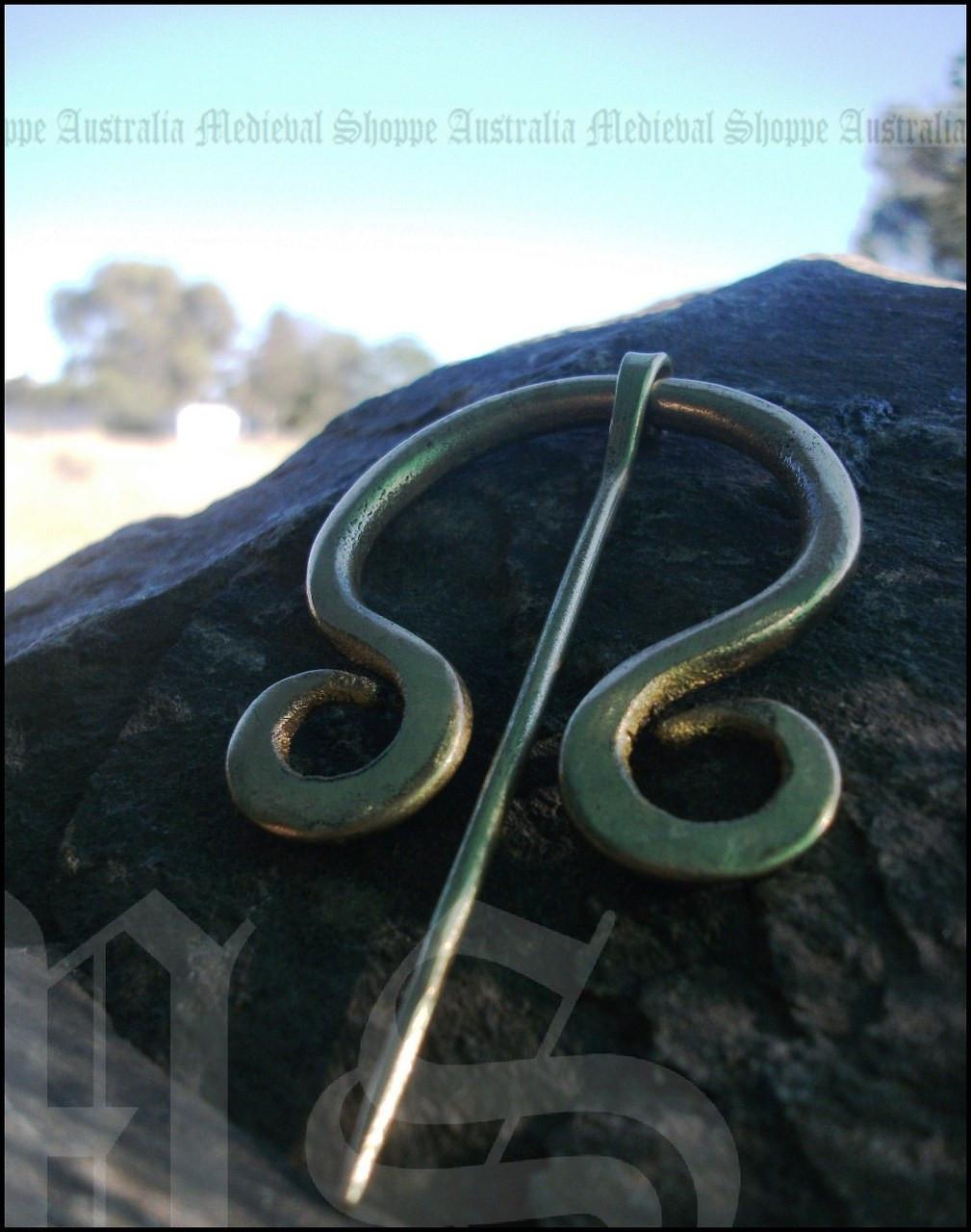 Brass Medieval Brooch