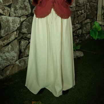 Linen-Coloured Skirt (Medium)