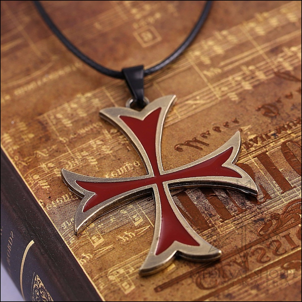 Knights templar cross pendant the medieval shoppe knights templar cross pendant knights templar cross pendant aloadofball Image collections