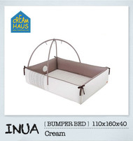 Inua Bumper Bed (Cream)