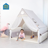 Inua Haus & Bumper Bed (Cream)