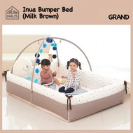 Grand Bumper Bed (Milk Brown)