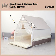Grand Inua Haus & Bumper Bed (Milk Brown)