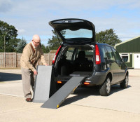 Scooter Loading Ramp - Deploying