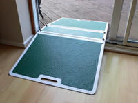 Jetmarine Folding Threshold Ramp - In use