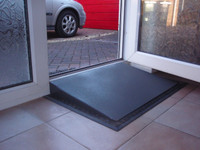 Door Wedge Ramp - In situ