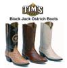 3 Ostrich boots