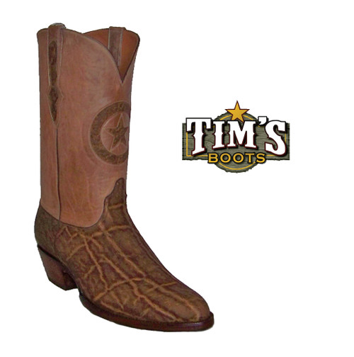 Elephant Cowboy Boots with Lone Star