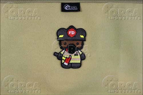 Kuma Korps - Fire Fighter Bear - Morale Patch - Color
