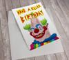 Killer Klown Birthday Card