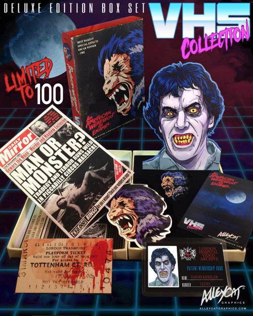 American Werewolf in Enamel Deluxe Box Set