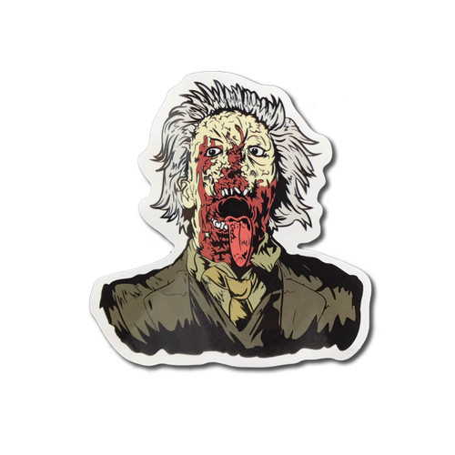 Dr Tongue Zombie Fridge Magnet