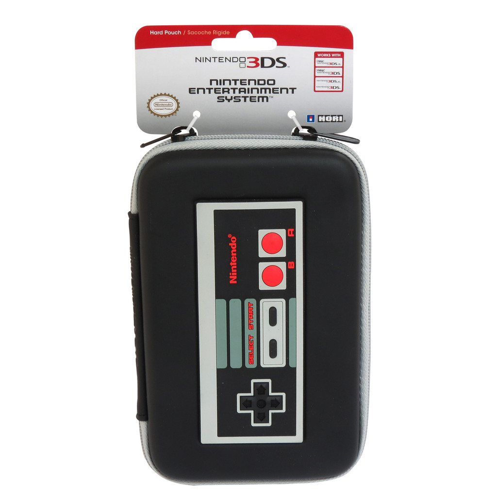 Retro NES Hard Pouch for Nintendo NEW 3DS XL