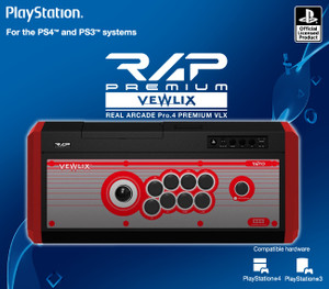 Real Arcade Pro. 4 Premium VLX (Red) for PlayStation 4