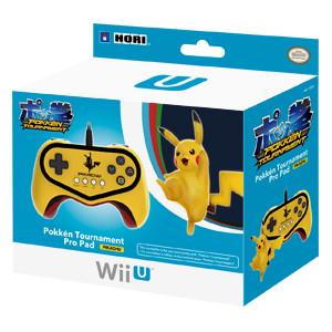 Pokken Tournament Pro Pad Limited Edition Controller for Nintendo Wii U (Pikachu Version)