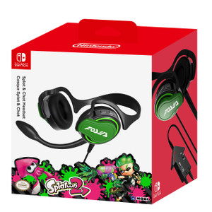 Splatoon 2 Splat and Chat Headset for Nintendo Switch