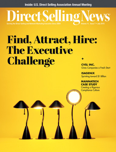 Direct Selling News - July 2015