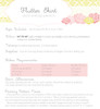 FLUTTER SKIRT PDF Sewing Pattern & Tutorial