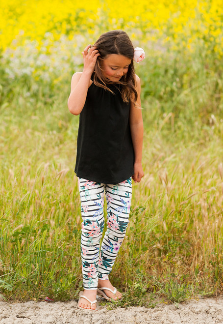 SIMPLE LEGGINGS PDF Sewing Pattern & Tutorial