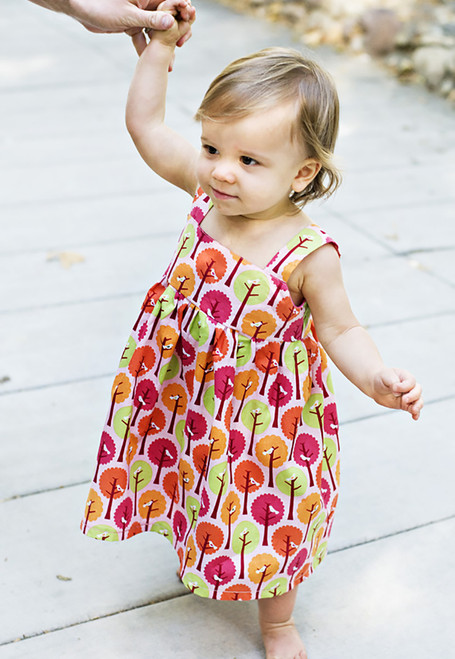 GOLDIE DRESS PDF Sewing Pattern & Tutorial