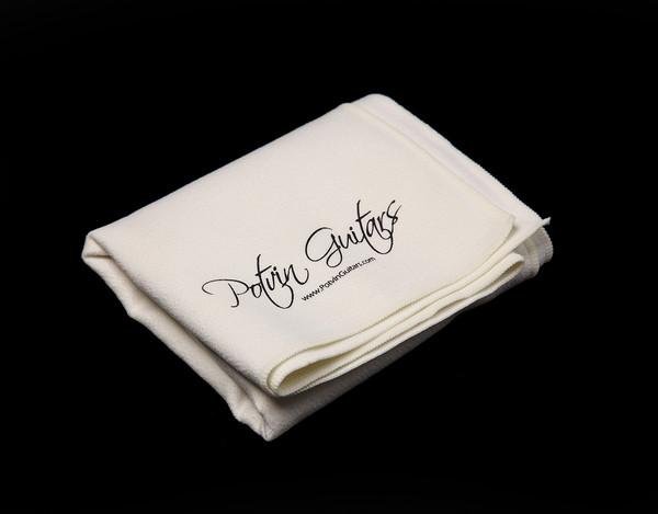 Potvin Guitars polishing cloth
