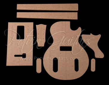 LP Jr Singlecut Template Set