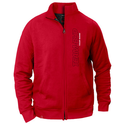Personalized Team-BHP Jacket (Red)
