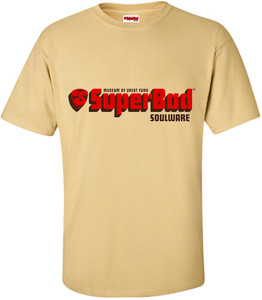 SuperBad Soulware Men's T-Shirt - Vegas Gold