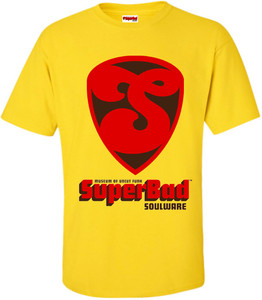 SuperBad Soulware Men's T-Shirt - S1 - Yellow