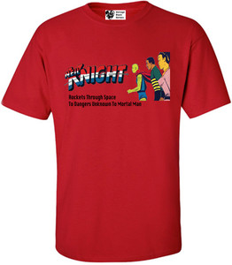 Vintage Black Heroes Men's T-Shirt - Neil Knight - 1 - Red