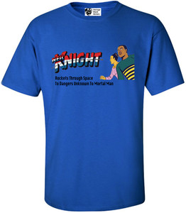 Vintage Black Heroes Men's T-Shirt - Neil Knight - 5 - Royal Blue