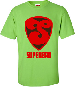 SuperBad Soulware Men's T-Shirt - S2 - Lime Green