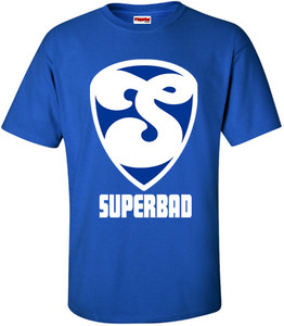 SuperBad Soulware Men's T-Shirt - S2 - Royal Blue - WBL
