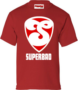 SuperBad Soulware Boys T-Shirt - S2 - Red - WR