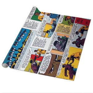 Vintage Black Heroes Wrapping Paper Sheets - Mark Hunt - CST9 - Package Of 5
