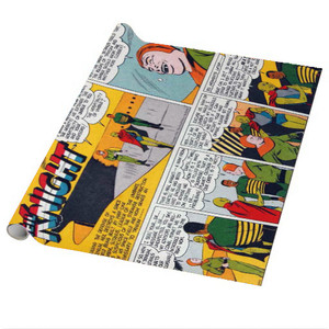 Vintage Black Heroes Wrapping Paper Sheets - Neil Knight - CST7 - Package Of 5