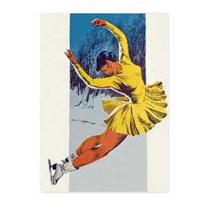 Afrotopia Notecards - Vintage Skater - Package Of 10
