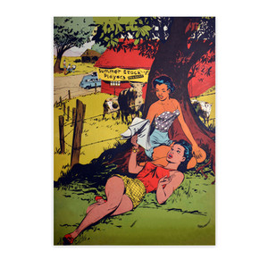 Afrotopia Postcards - Vintage Summer Stock - Package Of 10