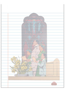 Afrotopia Notepad - Vintage Church