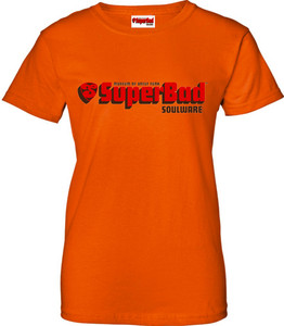 SuperBad Soulware Women's T-Shirt - Orange