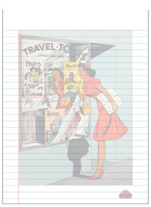 Afrotopia Notepad - Vintage Travel Agency
