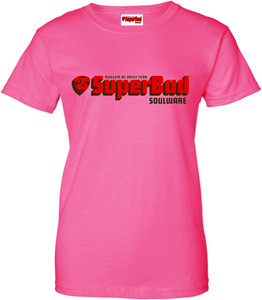 SuperBad Soulware Women's T-Shirt - Pink