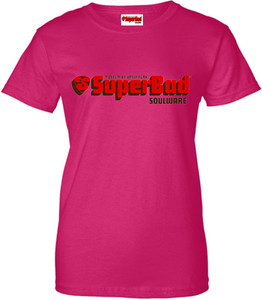 SuperBad Soulware Women's T-Shirt - Dark Pink