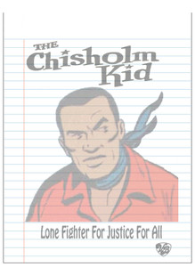 Vintage Black Heroes Notepad - The Chisholm Kid - 3