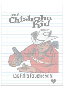 Vintage Black Heroes Notepad - The Chisholm Kid - 5